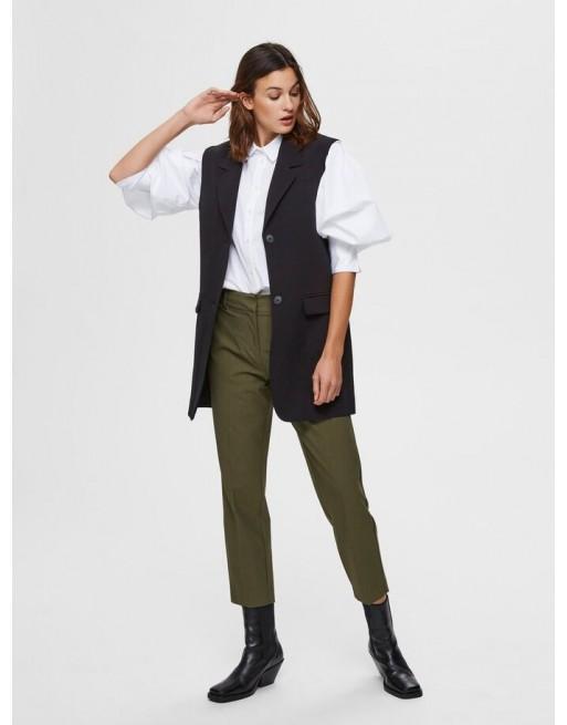 Cropped pantalon broek