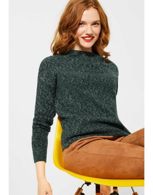 Grof gebreide trui