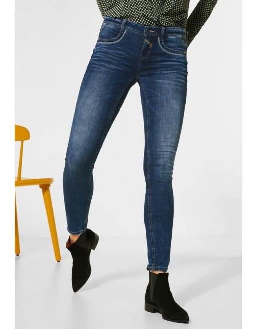 Sportieve slim fit jeans
