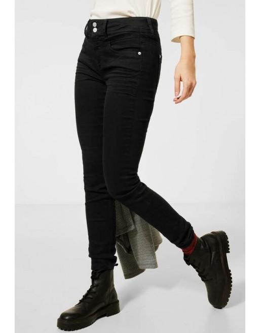 jeans met hoge taille