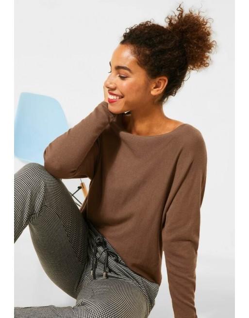 Pullover met brede mouwen