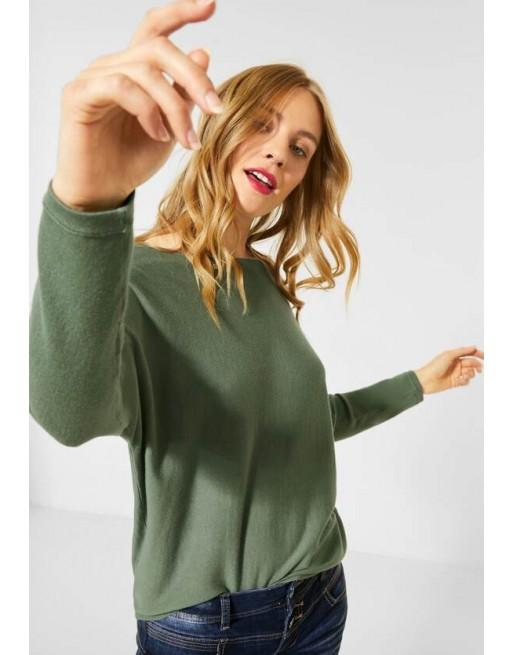 Zachte, fijngebreide trui