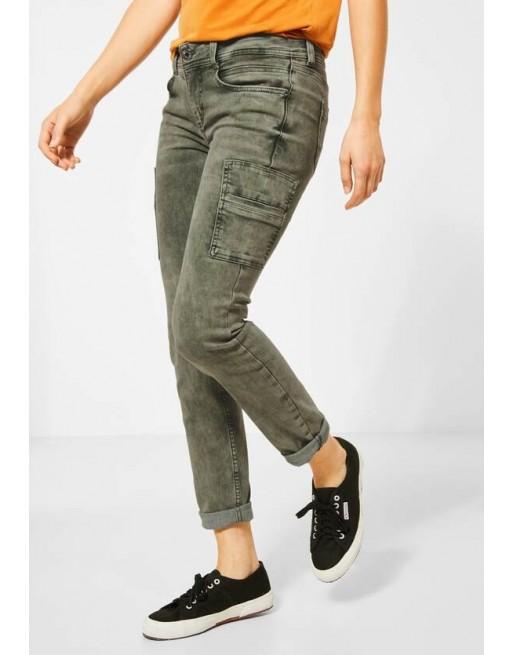jeans cargo stijl