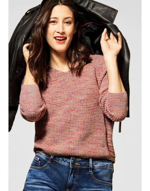 Gebreide pullover v-neck