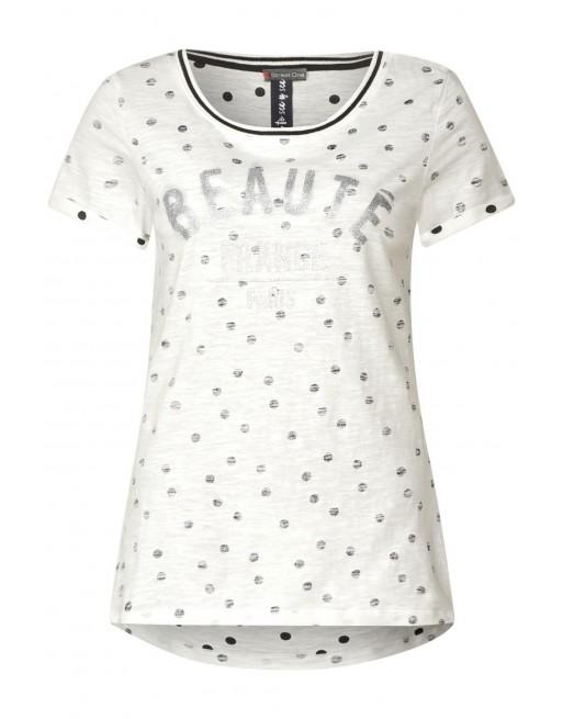 dot placemet shirt