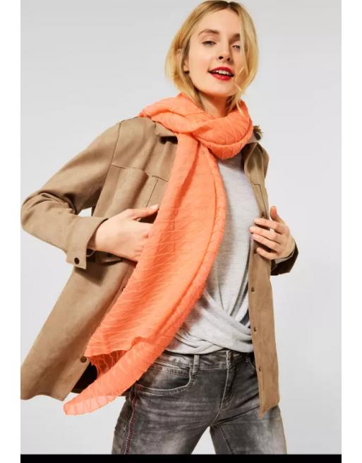 Plissée sjaal