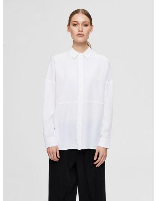 lage schouder overhemd