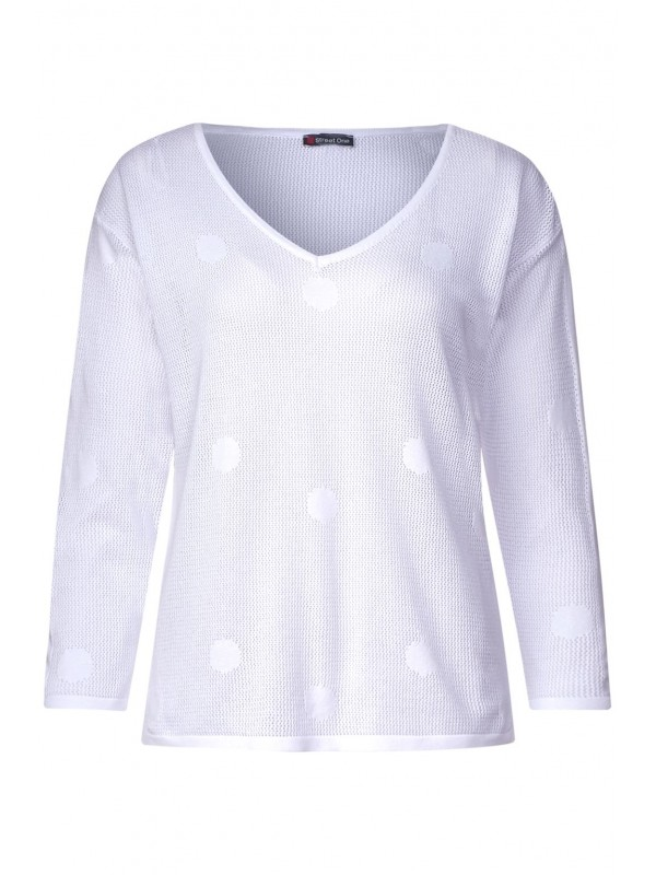 Sweater dot structure