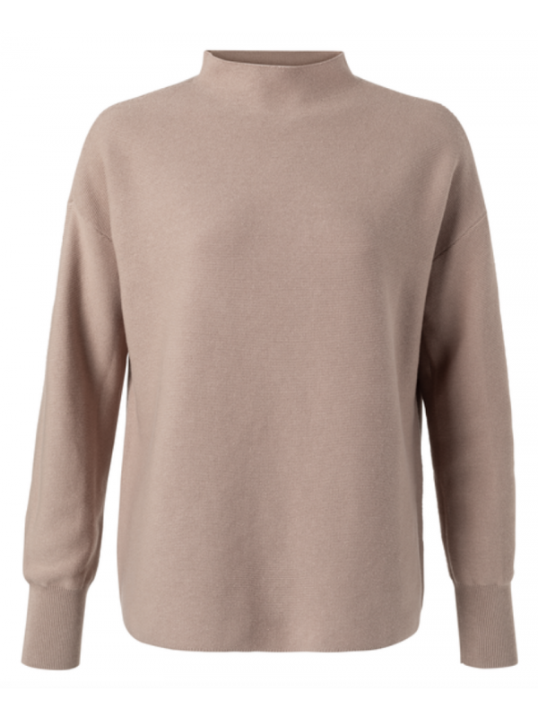 sweater met col