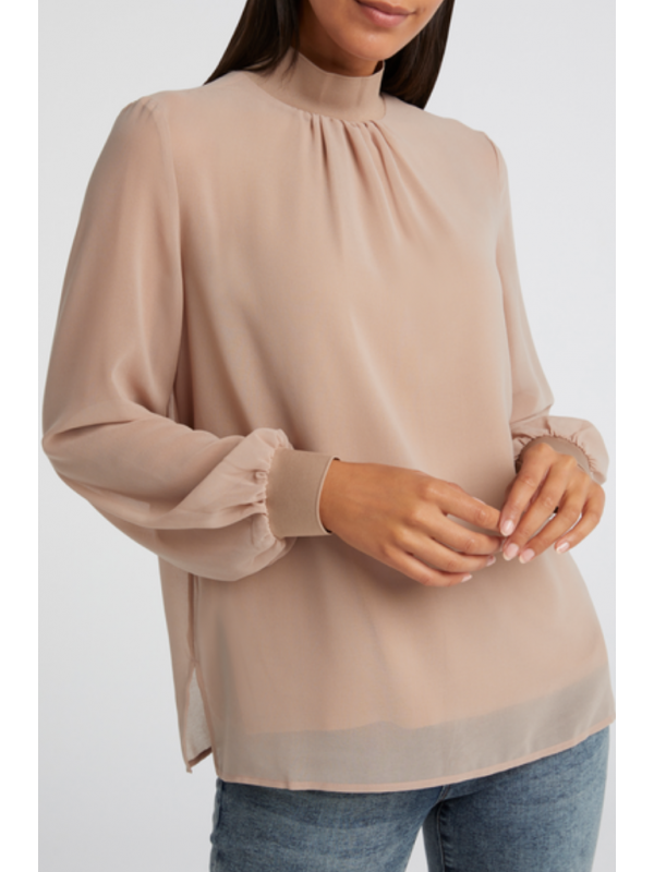 Layered blouse