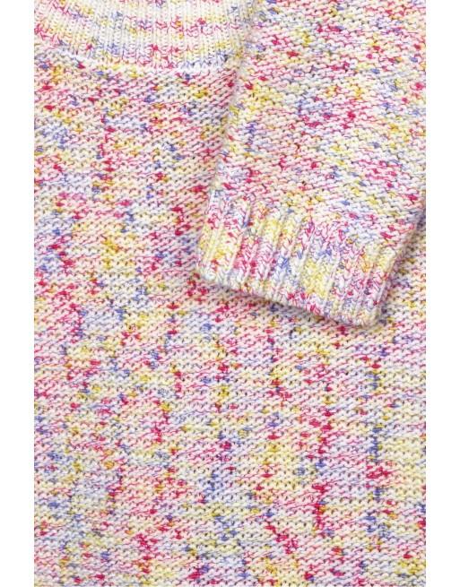 Sweater w/ multicolor yarn