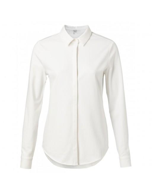 Jersey katoen overhemd