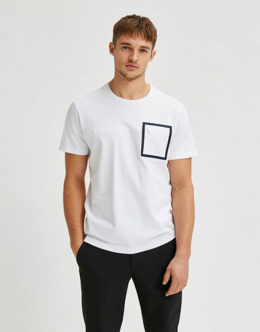 T-shirt met rits
