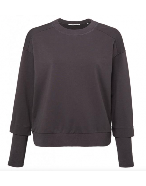 Soft jersey sweater