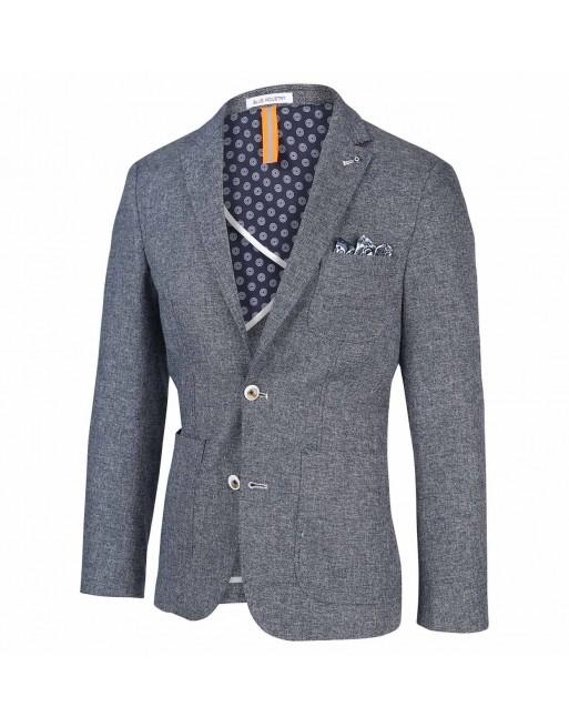 Blue industry blazer