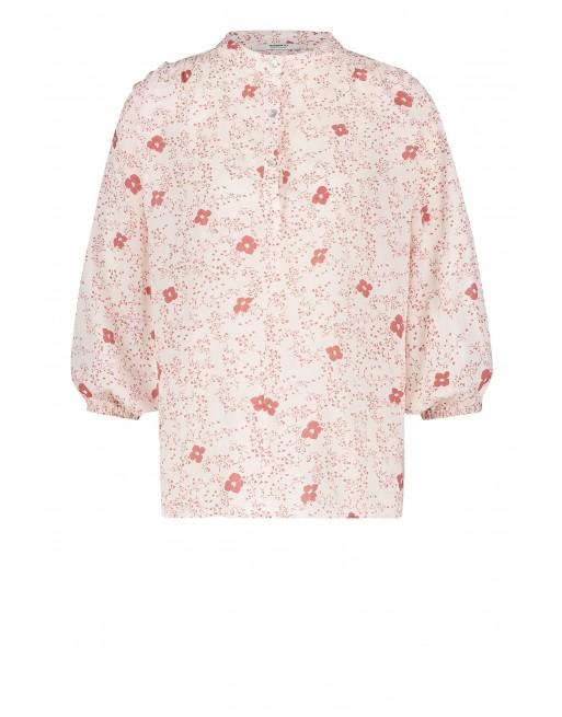 blouse flower print