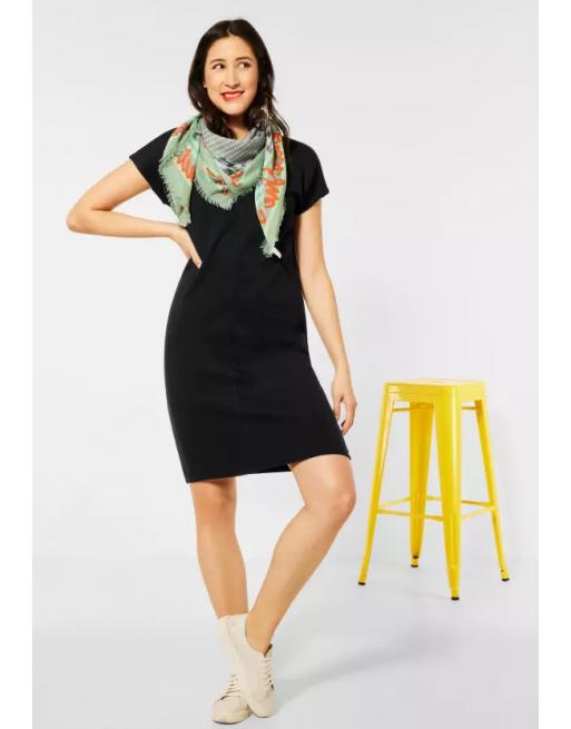 Casual jurk in effen kleur