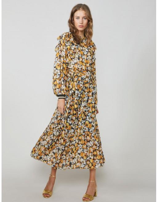 Dress sunny flower print