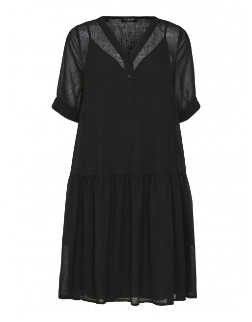 short sleeve jurk mesh