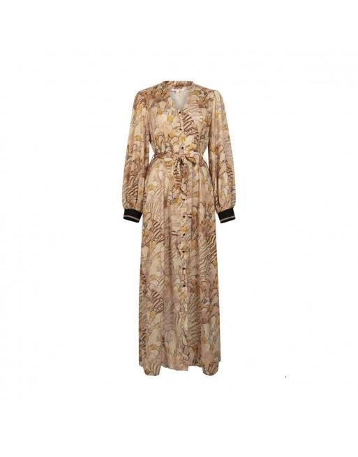 Dress Maxi Art Deco Print