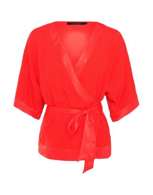 kimono top crepe