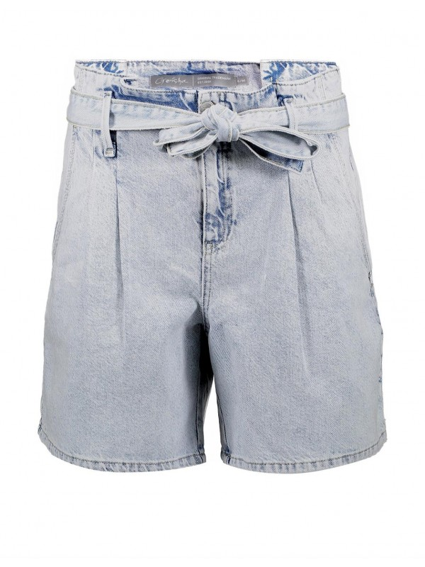 Short with strap at waistband