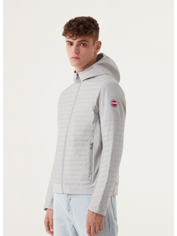 HOODED JACKET WITH...