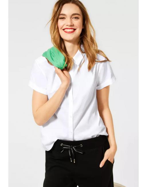 Blouse met overhemdkraag
