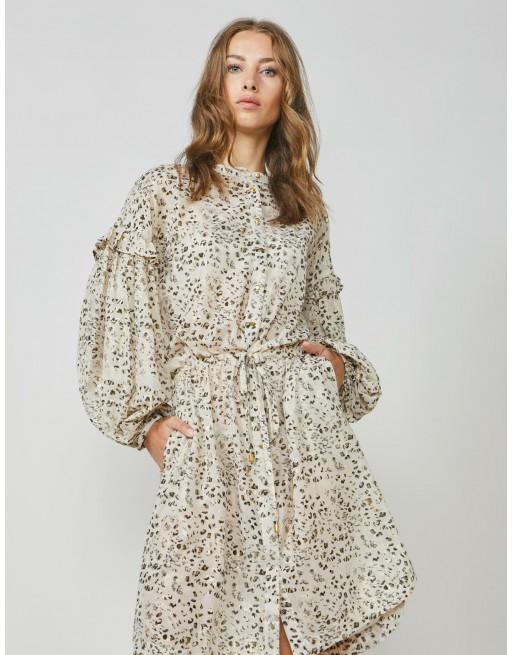 Dress panther print