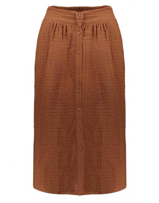 Skirt pockets & buttons