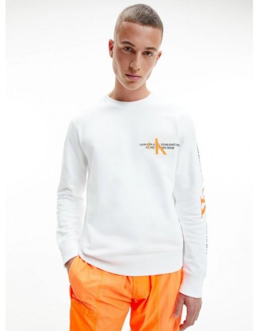 Sweater met grafisch logo