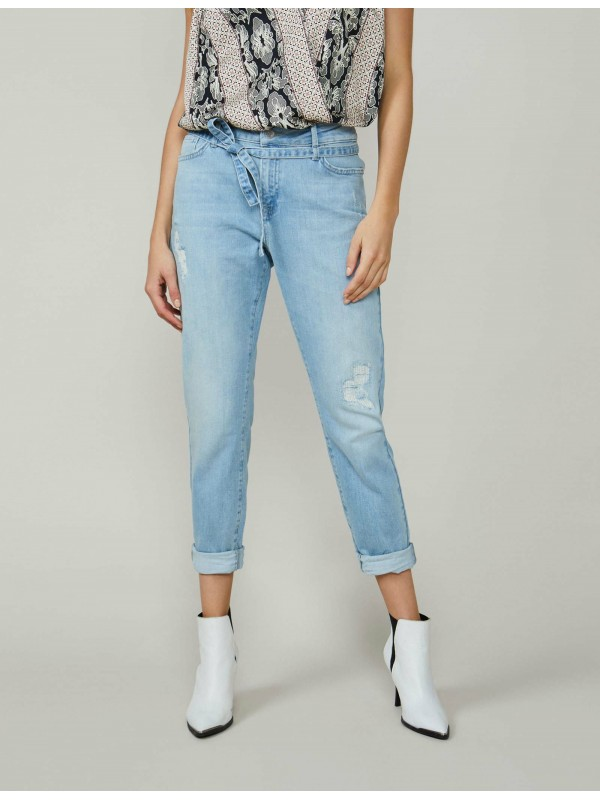 Tapered jeans soft cotton...