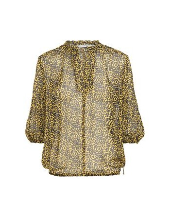 top viscose animal print