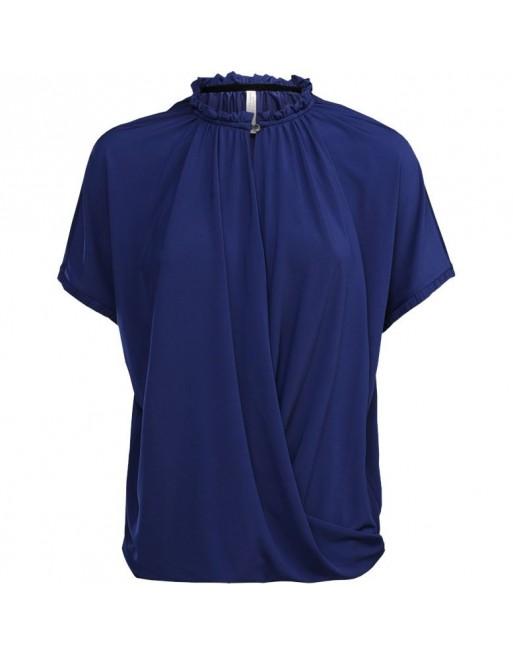 short sleeve crepe jersey