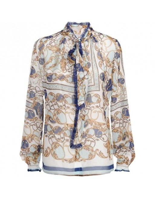 blouse vintage print