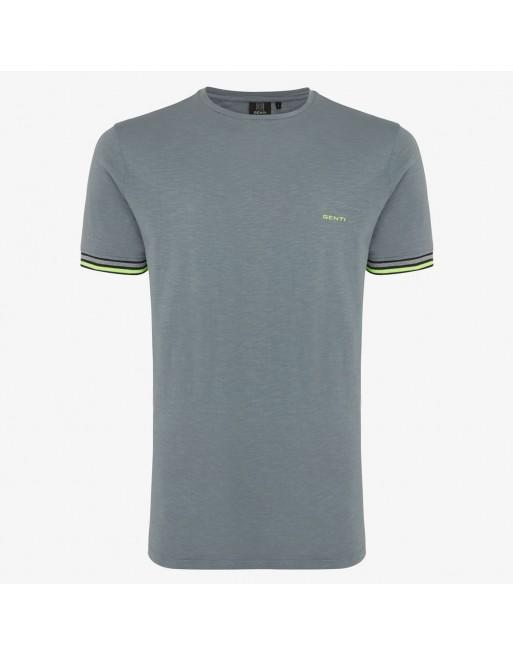 Gewassen t-shirt