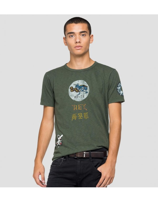 T-Shirt van katoen