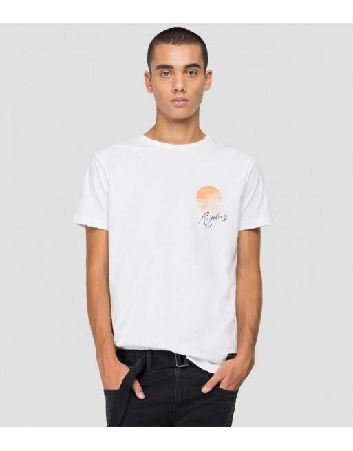 T-Shirt met print op...
