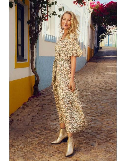Maxi jurk met bloemprint