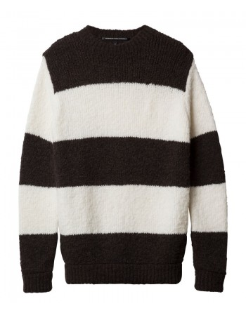 crewneck sweater stripe