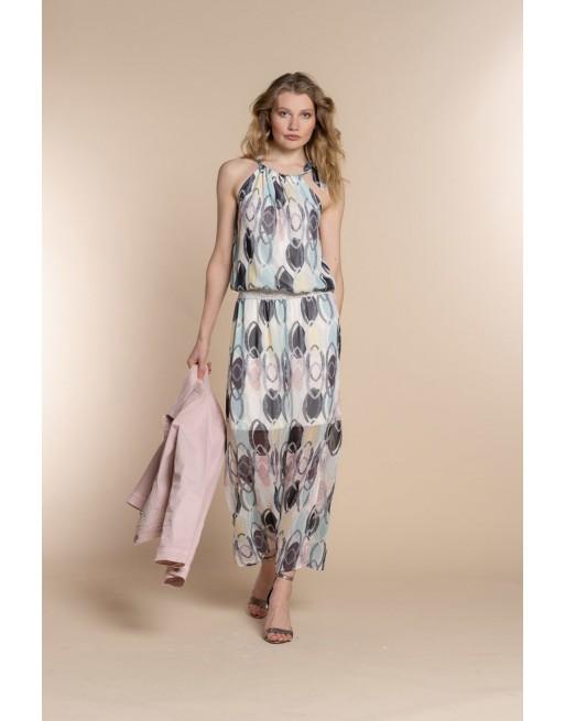 Dress circle print