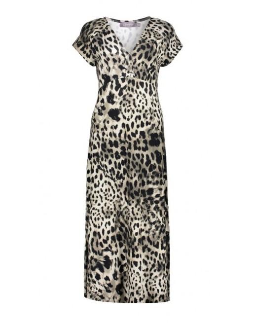 Dress long short sleeve