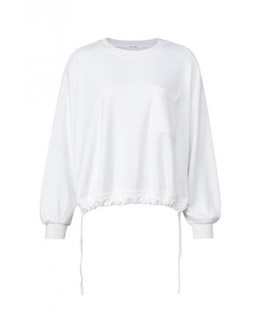 Sweatshirt with drawstring